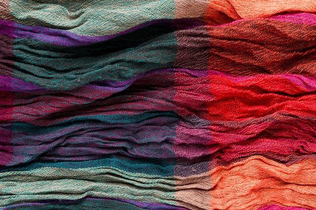 Pose plate de tissu