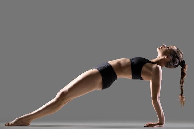 Pose de yoga purvottanasana