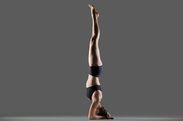 Pose de yoga soutenue