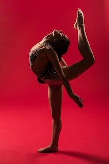Positions de gymnaste