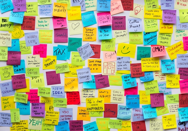 Post-it post it board office