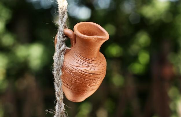 Un pot en argile