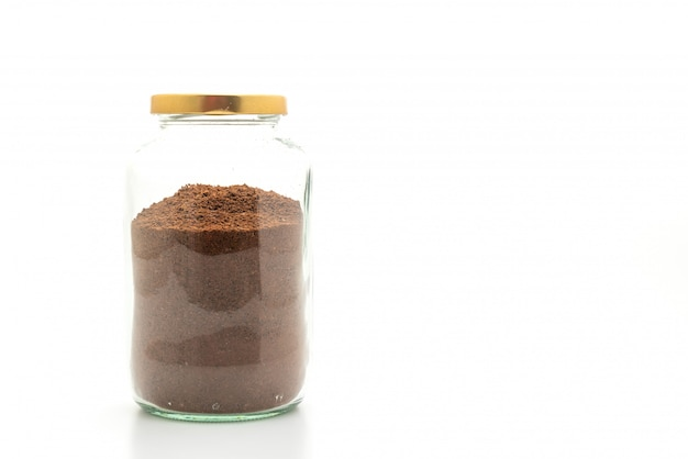 Pot de café instantané