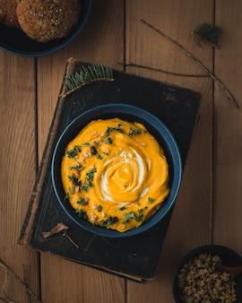 Potage au beurre et à la courge