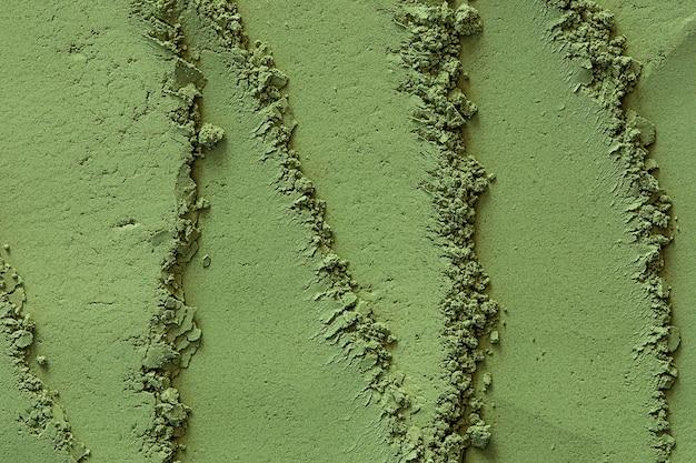Poudre de henné indien vert utilisé pour la teinture capillaire, le mehndi et le traitement cosmétique