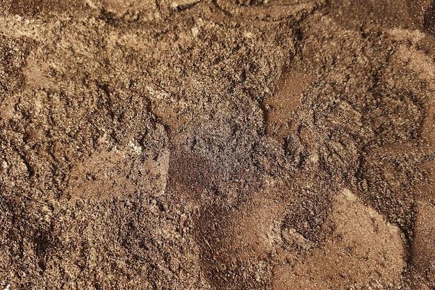 Poudre de pigment au mica brun métallique