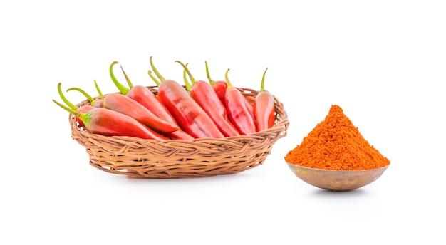Poudre de piment rouge