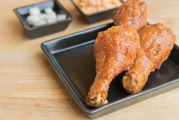 Poulet frit au coréen