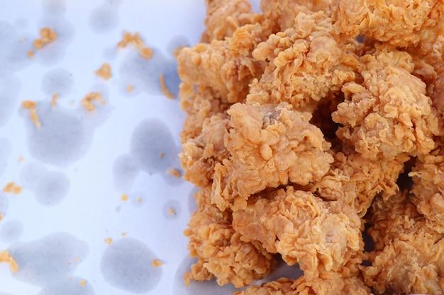 Poulet frit au street food