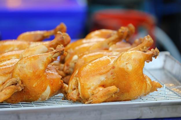 Poulet rôti grillé