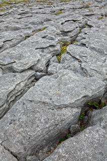 Poulnabrone texture de pierre grise hdr