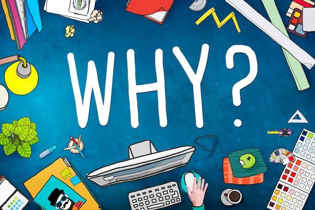 Pourquoi question raison concept confondre curieux