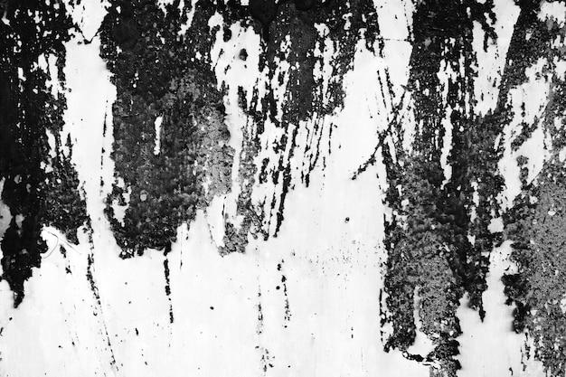 Poussière noir et blanc et arrière-plans texturés avec espace.