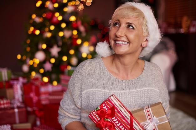 Pouvez-vous voir combien de cadeaux j'ai reçus?