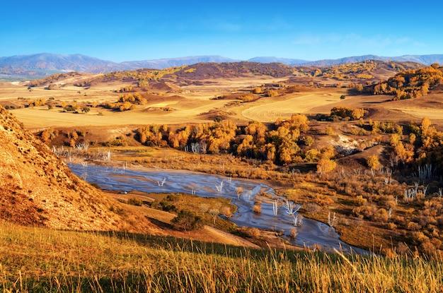 Prairie de mongolie intérieure