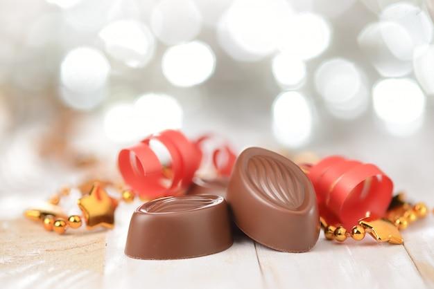 Pralines au chocolat