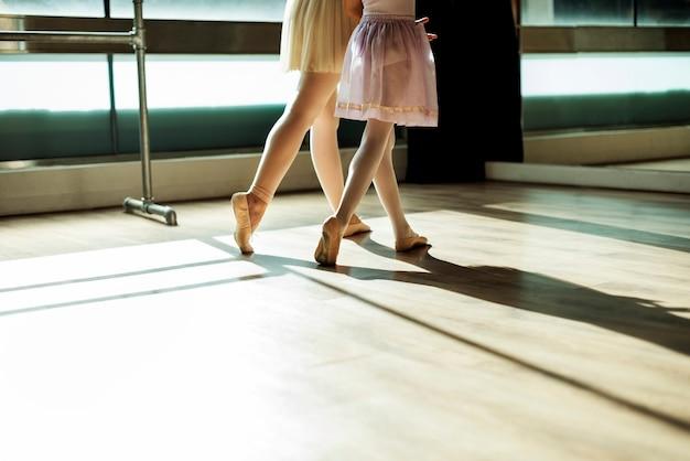 Pratique du ballet