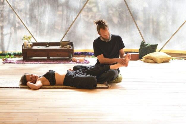 Pratique du massage tantrique en couple