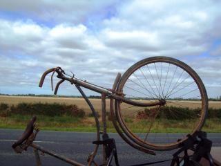 Pré bicyclette somme de guerre - w cycle de somme, à vélo
