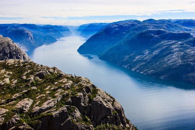 Preikestolen preacher chaire rock, norvège