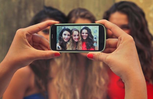 Prendre une photo de filles