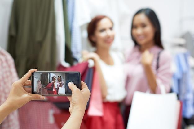 Prendre des photos en magasin