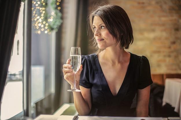 Prendre un verre au restaurant