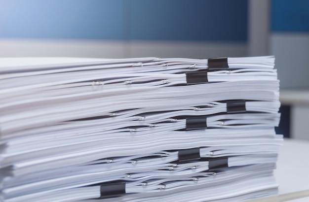 Préparation du document et du livre blanc