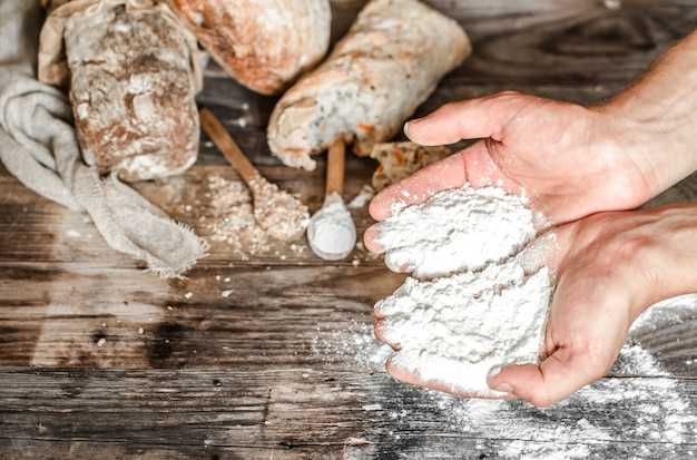 La préparation du pain