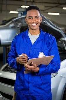 Préparation mechanic une liste de contrôle