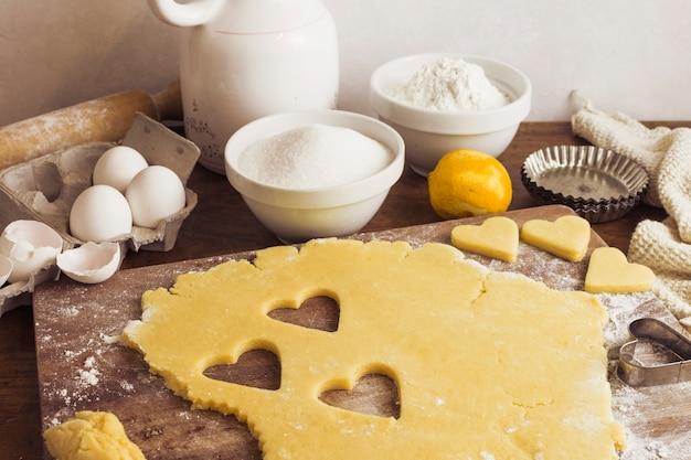 Préparation de la pâte à tarte