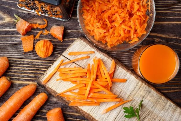Préparer des carottes végétales saines à la cuisson