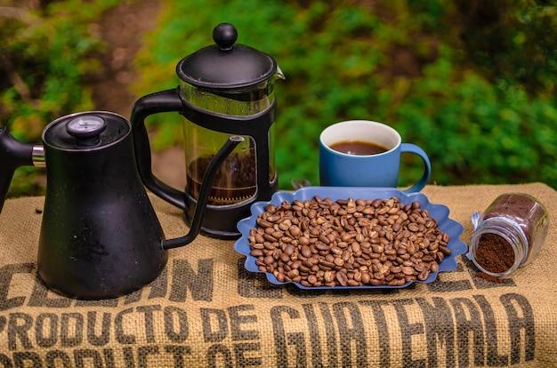 Présentation du café guatémaltèque