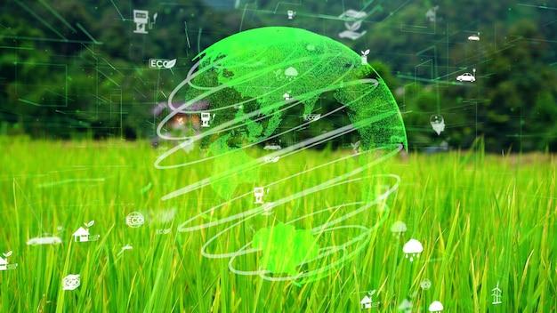 Préservation future de l'environnement et développement durable de la modernisation esg