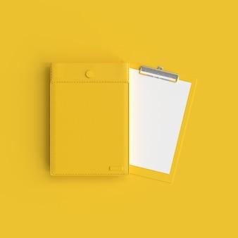 Presse-papiers en jaune