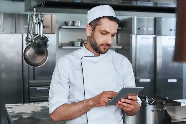 Prêt à faire son meilleur chef cuisinier cherche des recettes