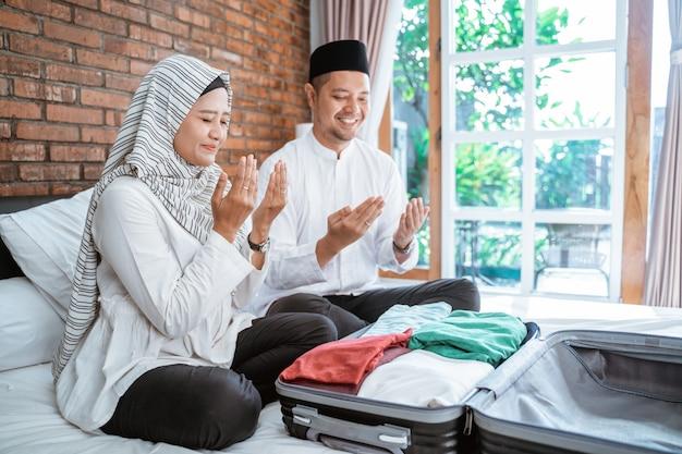 Priez avant de partir en voyage