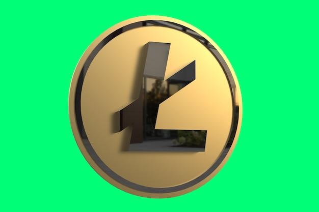 Prime de photo de pièce de monnaie de rendu 3d