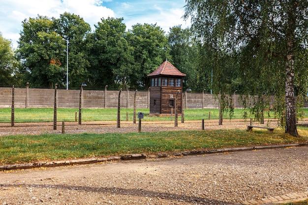 La prison juive d'auschwitz oswiecim en pologne occupée pendant la seconde guerre mondiale et l'holocauste