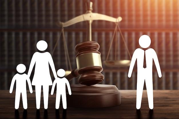 Privation des droits parentaux. mauvaise attitude du père, protection de la famille