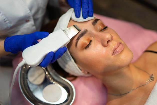 Procédure de nettoyage du visage