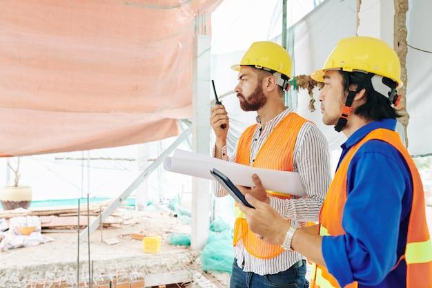 Processus de contrôle de la construction de maisons