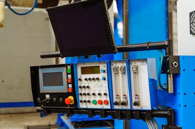Processus de coupe de travail des métaux industriels