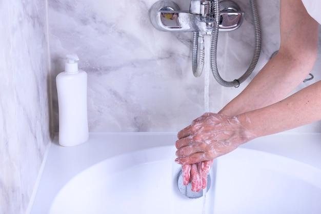 Processus de lavage des mains