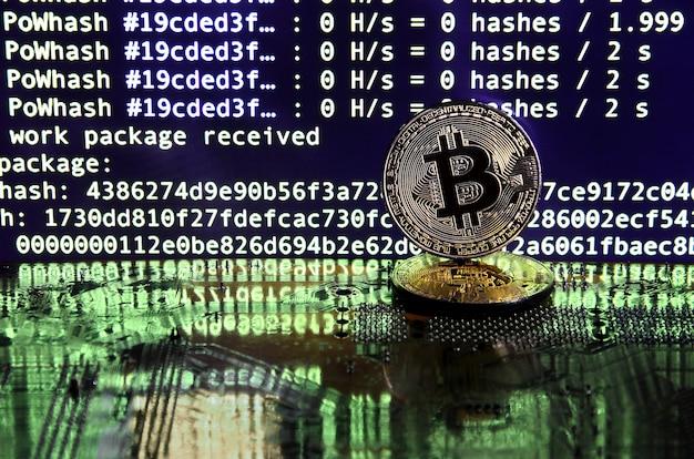 Le processus numérique d'exploration de crypto-monnaie à l'aide des gpu