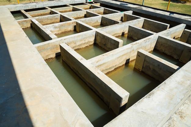Processus de traitement de l'eau et usines de traitement de l'eau