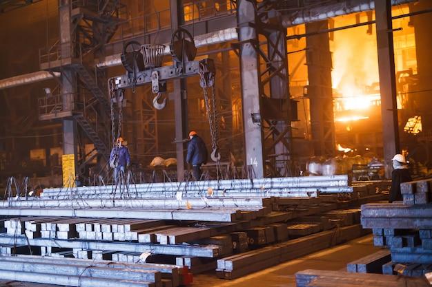Production d'acier dans des fours électriques
