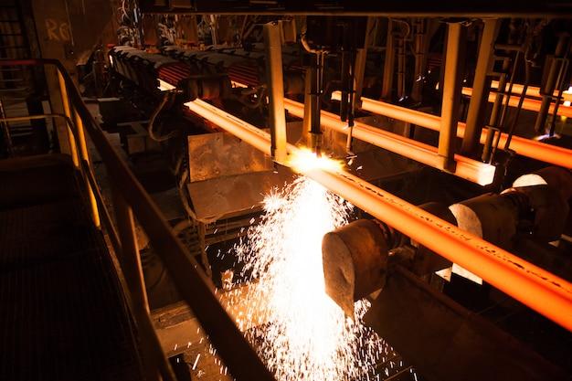 Production d'acier et de métal