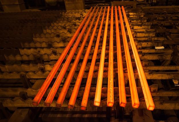 Production d'acier et de métaux
