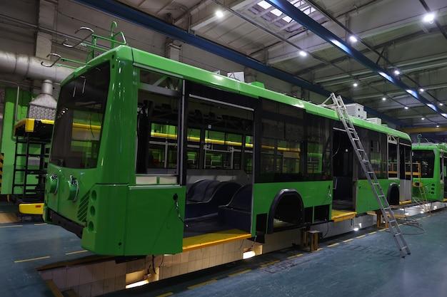 Production d'assemblage de véhicules électriques urbains